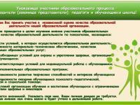 Независимая оценка образовательной организации